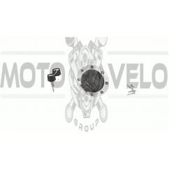 Крышка бака топливного   4T CB/CG 150/200   Musstang, Geon Pantera, Irbis   (круглая)   ZV