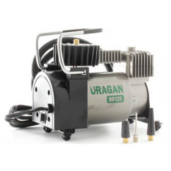 Компрессор URAGAN, 37 л/мин, с автостопом mod:90135