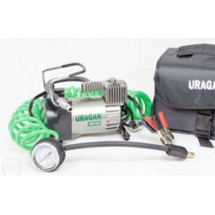 Компрессор URAGAN, 40 л/мин, шланг 5,7 м; mod:90140