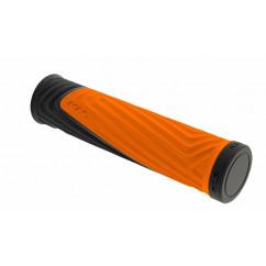 """Грипсы велосипедные Kellys """"Advancer"""" цвет:оранжевый"""