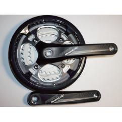 Шатун система, разборная PROWHEEL, алюминиевая mod:251P 28-38-48 зубов (14),черный