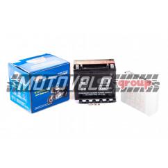 АКБ 12V 18А кислотный (175x87x155, черный, mod:UTX 20L-BS) (+электролит) OUTDO