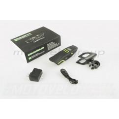 Аудиосистема велосипедная на руль (влагостойкая, фонарик, рация, МР3/USB/SD/Bluetooth/FM-радио) (mod:AV126-G) NEO