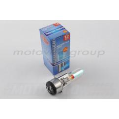 Лампа BA20D (2 уса) 12V 50W/50W (хамелеон розовый) BEST (mod:A)