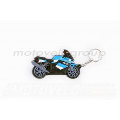 Брелок резиновый байк (синий) BMW 1200 (#YSK002C)