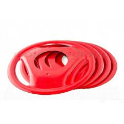 Колпаки на колеса ЯВА, ИЖ (18-е колесо) (красные) (компл, 4шт) RGC