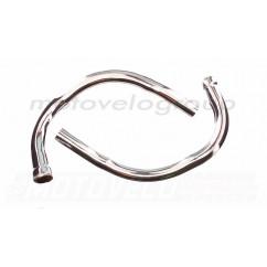 Колено глушителя   ЯВА 360 6V   (старуха)   JING   (mod.A), пара