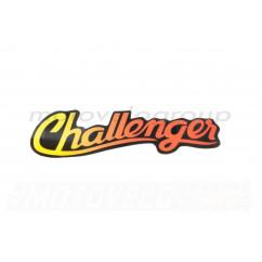 Наклейка декор CHALLENGER (15x10см) (#3133)
