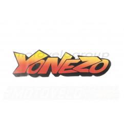 Наклейка декор YONEZO (17x6см) (#7039)