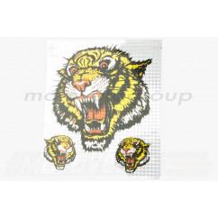 Наклейки (набор) TIGER (25х22см) (#0154)
