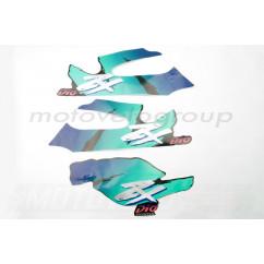 Наклейки (набор) Honda DIO ZX (42х15см, 3шт) (#2471)