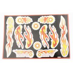 Наклейки (набор) FIRE (30х20см) (#5991D)