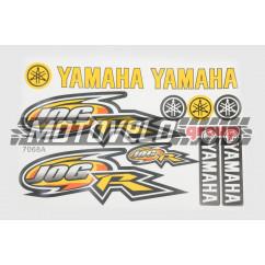 Наклейки (набор) Yamaha JOG (26х17см, 11шт) (#7068A)