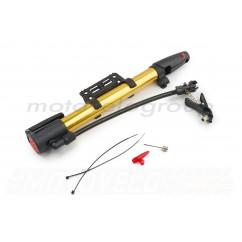 Насос ручной (L-250mm, с крепежем на раму, желтый) OP