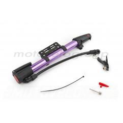 Насос ручной (L-250mm, с крепежем на раму, фиолетовый) OP