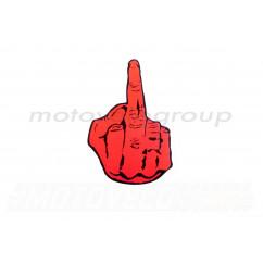 Наклейка декор FUCK YOU (12x8.5см) (#5892)
