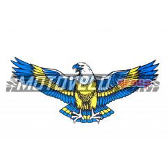 "Наклейка декор ""EAGLE"" (5х11см) (#SEA)"