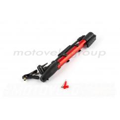 Насос ручной (L-250mm, с крепежем на раму, красный) OP