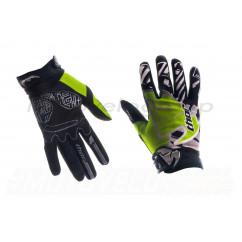 Перчатки THOR (size:M, черно-зеленые)