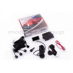 Парктроник mod:PA102 (датчики черные 4шт, LCD, монтажный комплект) THOR