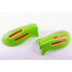 Защита рук на руль (mod:2, GLOVES, зеленые) XJB