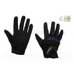 Перчатки   SCOYCO   (mod:MC-10, size:L, синие, текстиль), пара