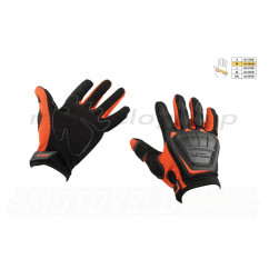 Перчатки SCOYCO (mod:MC-08, size:M, красные, текстиль)