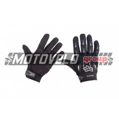 """Перчатки DIRTPAW (mod:077, size:M, черные) """"FOX"""""""