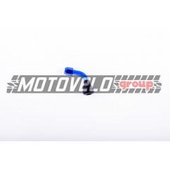 """Ниппель колеса (стайлинговый, косой) (синий) (#0002) """"MAX GUARD"""""""