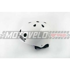 Шлем райдера (size:L, белый) (США) S-ONE