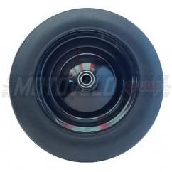 Колесо на садовую тачку литое черное 3.50-8 (d=20 mm)