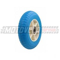 """Колесо на садовую тачку пенополиуритановое 2.50-4 (d=20 mm) """"DM"""", цвет: синий"""
