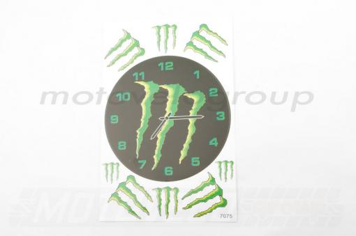 Наклейки (набор) спонсор MONSTER ENERGY (27х18см) (#7075)